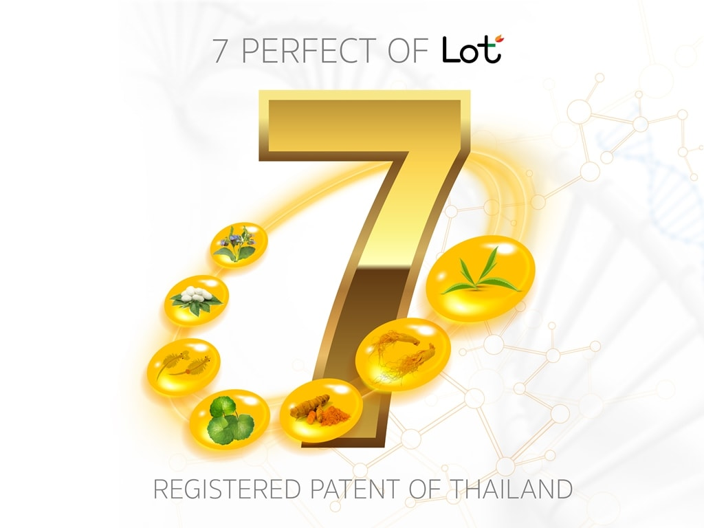 7 Perfect of LOT มอบผิวสวยด้วยคุณสมบัติ 7 ประการ จากผลิตภัณฑ์ลอต ลอเรียนท์