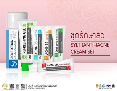 SYLT ANTI ACNE CREAM SET