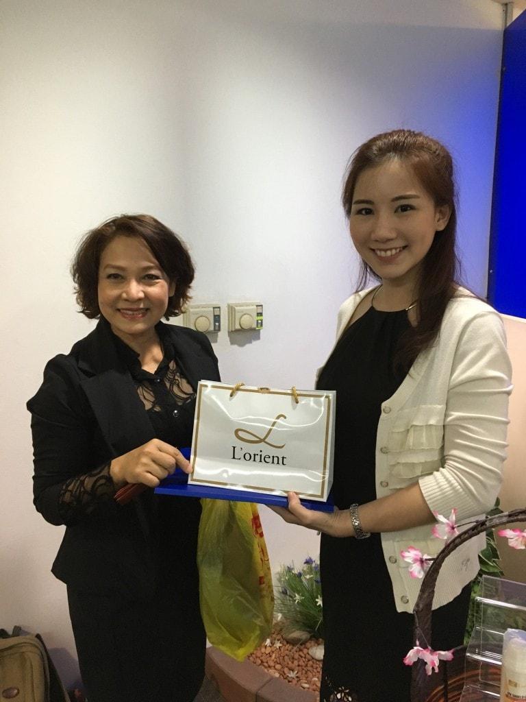 LOT LORIENT in ASEAN BEAUTY show